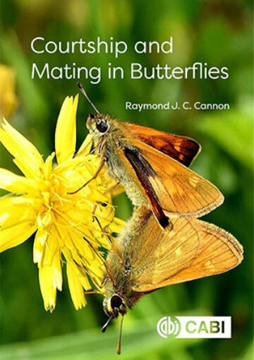 Book cover: Courtship and mating of butterflies