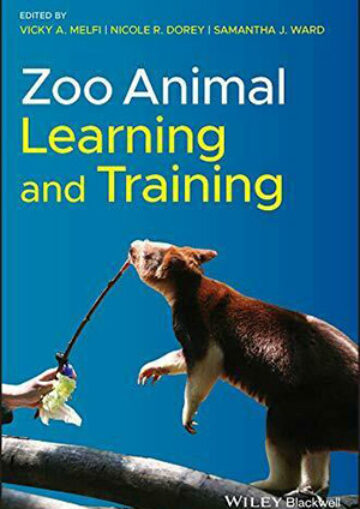 Book cover: Zoo animal learning and training